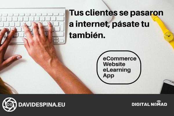 Clientes en internet