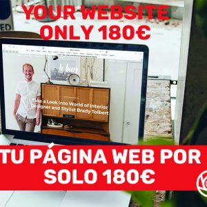 Pagina web landing page 180€